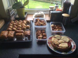 baking - sausage rolls shortcake
